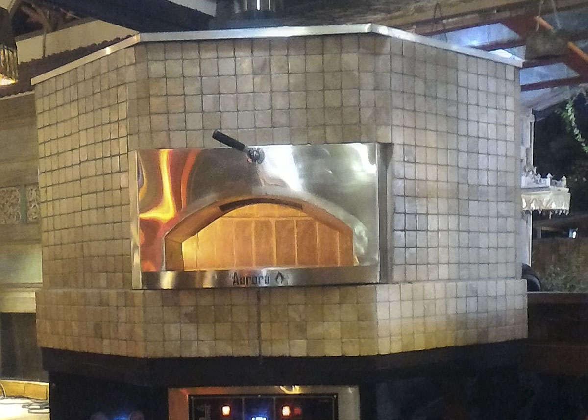 Aurora 120 CeramicBrown Oven Pizza Brick Lava Stones Wood Gas Bali Indonesia Asia 400