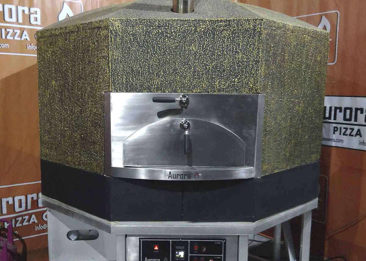 Aurora 120 GreenBlack Oven Pizza Brick Lava Stones Wood Gas Bali Indonesia Asia 400