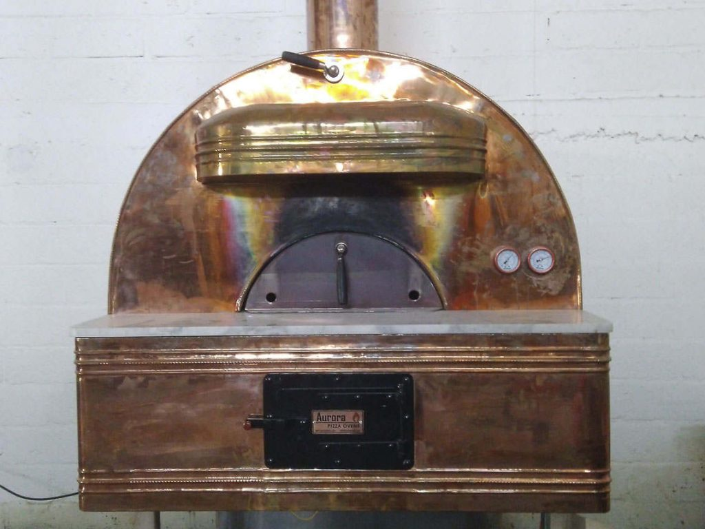 Aurora 90 Brass Oven Pizza Brick Lava Stones Wood Gas Bali Indonesia Asia 300