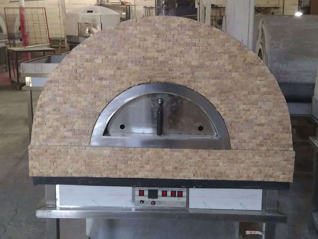 Aurora 90 BrownStone Oven Pizza Brick Lava Stones Wood Gas Bali Indonesia Asia 200