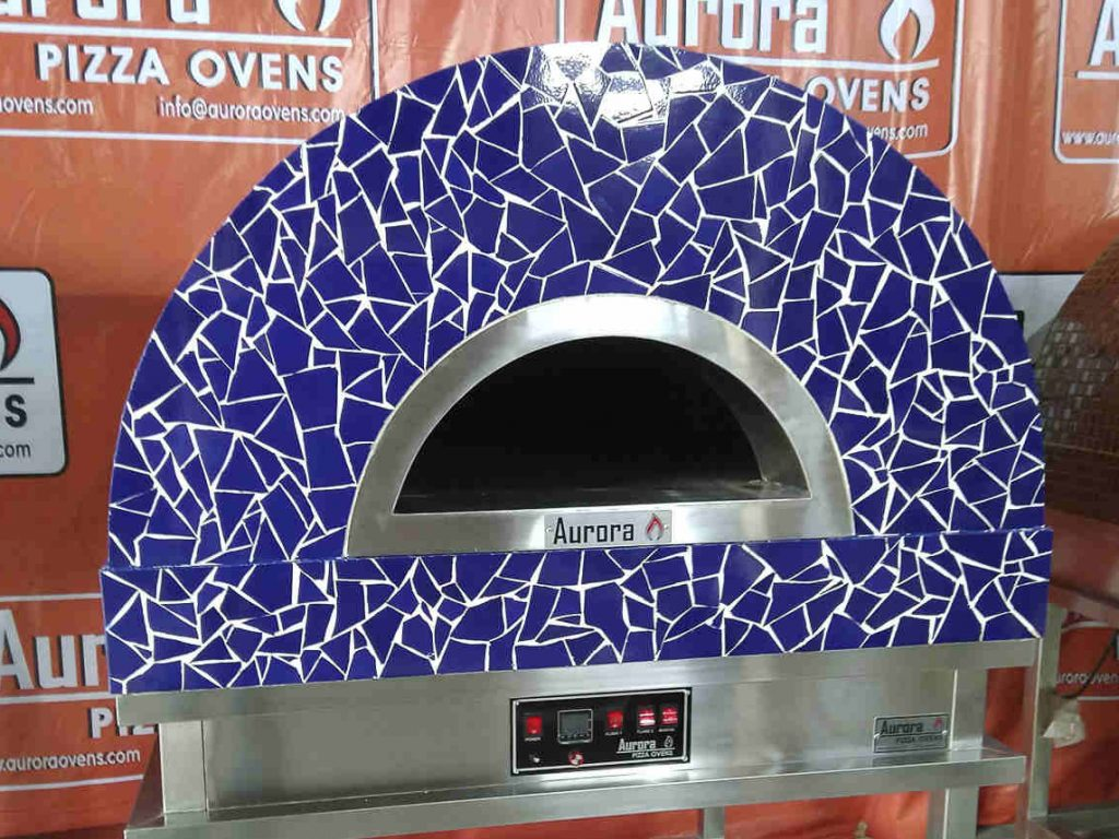 Aurora 90 CeramicBlue Oven Pizza Brick Lava Stones Wood Gas Bali Indonesia Asia 200