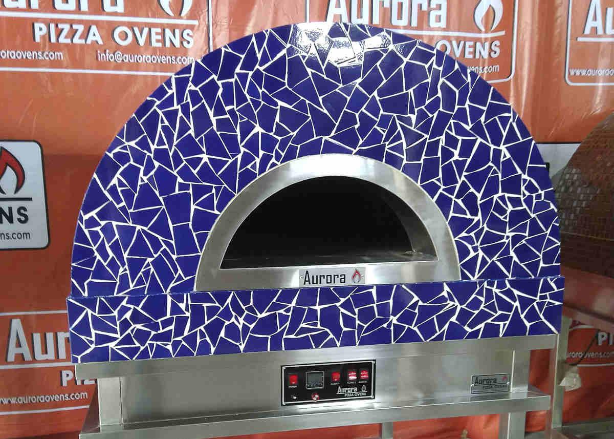 Aurora 90 CeramicBlue Oven Pizza Brick Lava Stones Wood Gas Bali Indonesia Asia 200
