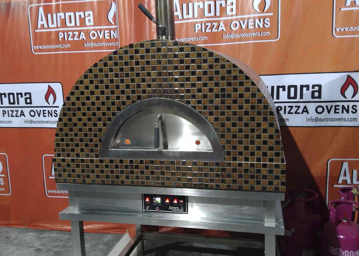 Aurora 90 CeramicMosaic Oven Pizza Brick Lava Stones Wood Gas Bali Indonesia Asia 200