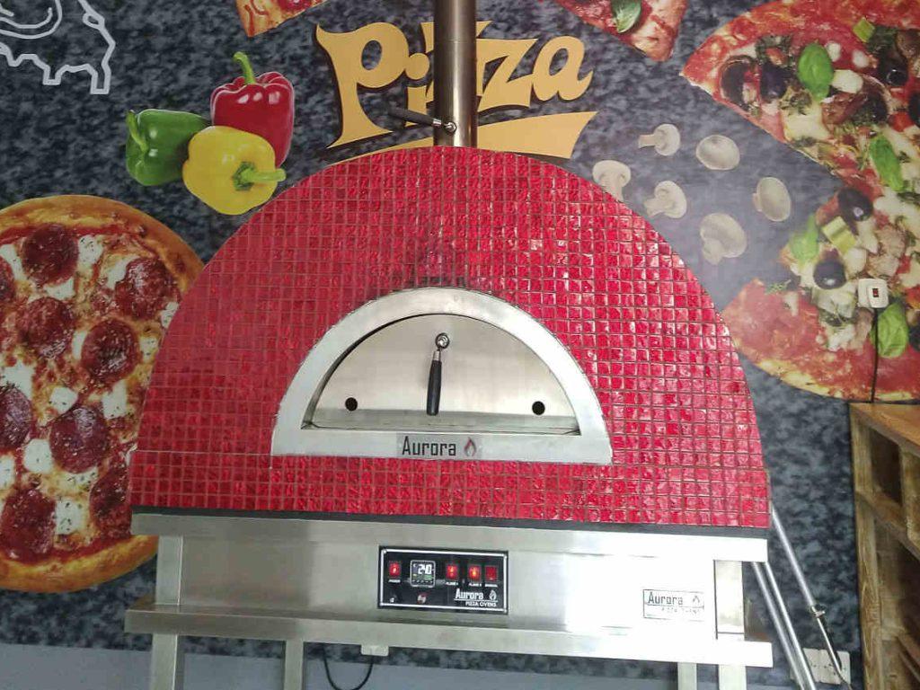 Aurora 90 CeramicRed Oven Pizza Brick Lava Stones Wood Gas Bali Indonesia Asia 200