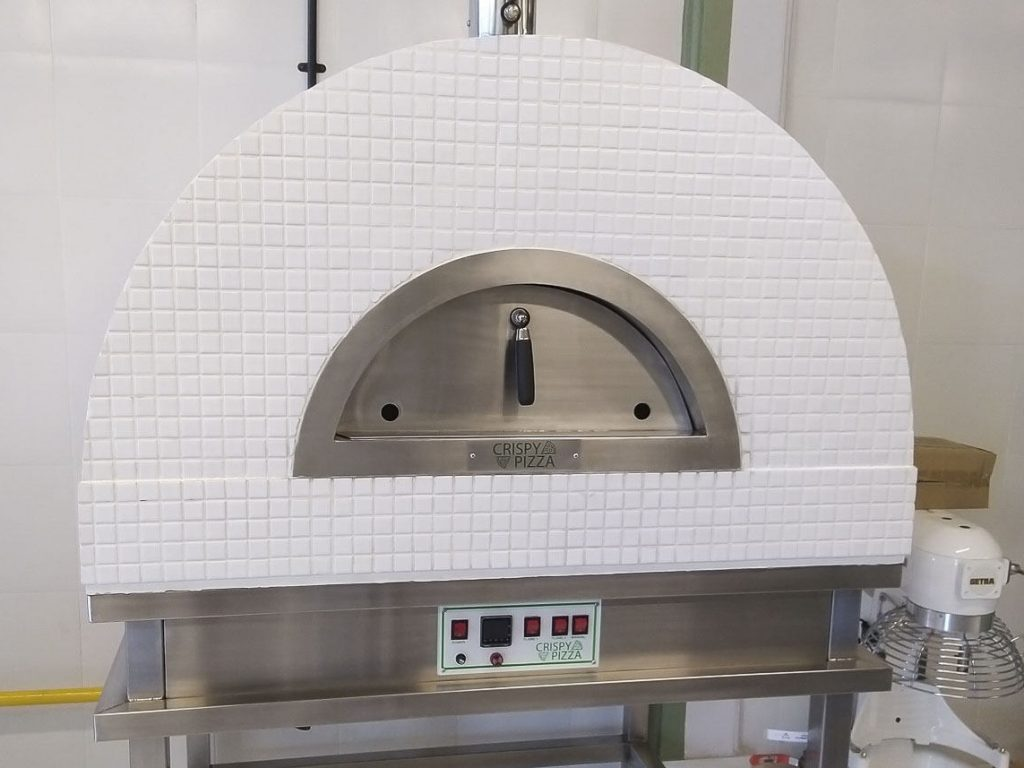 Aurora 90 CeramicWhite Oven Pizza Brick Lava Stones Wood Gas Bali Indonesia Asia 200
