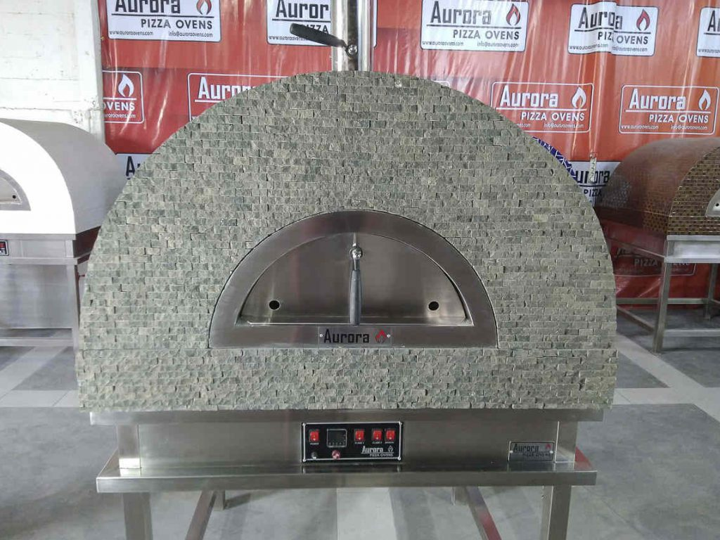 Aurora 90 GrayStone Oven Pizza Brick Lava Stones Wood Gas Bali Indonesia Asia 200