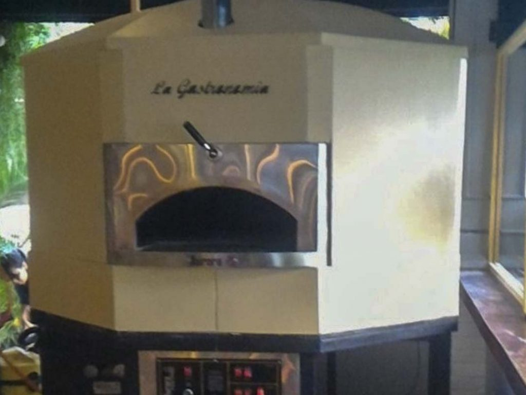 Aurora 120 cream Oven Pizza Brick Lava Stones Wood Gas Bali Indonesia Asia 400 030