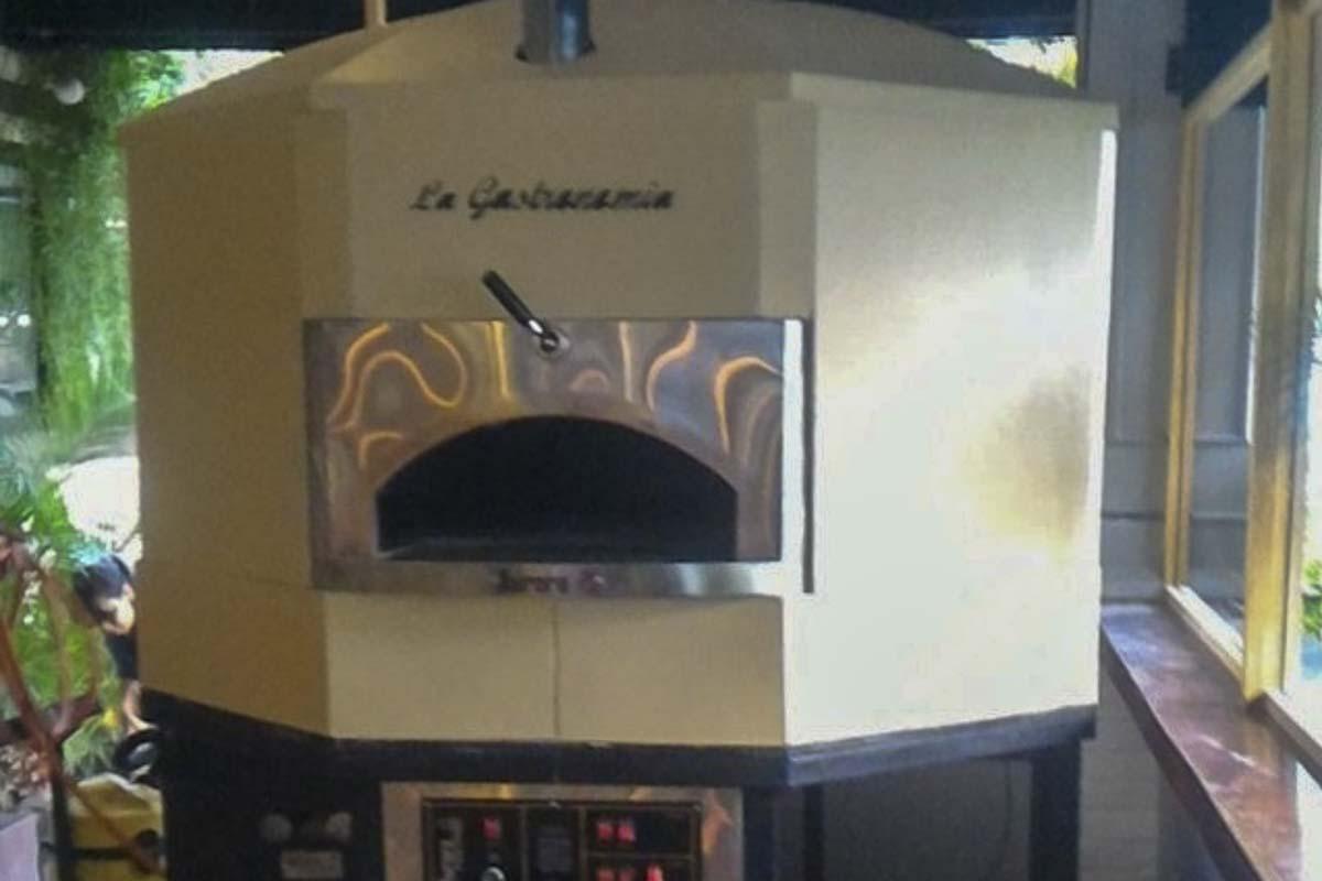 Aurora 120 cream Oven Pizza Brick Lava Stones Wood Gas Bali Indonesia Asia 400 030