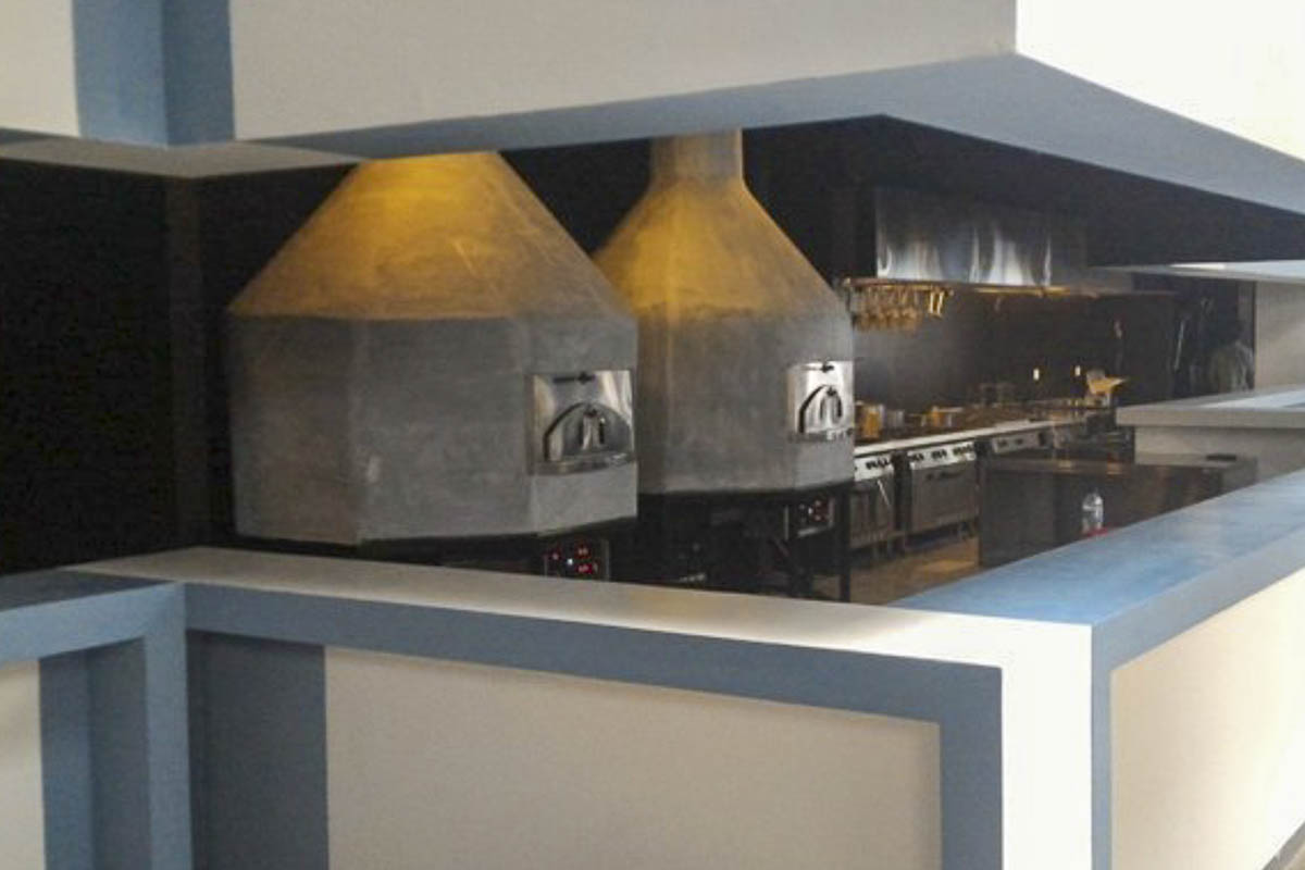 Aurora 120 custom Oven Pizza Brick Lava Stones Wood Gas Bali Indonesia Asia 500 027