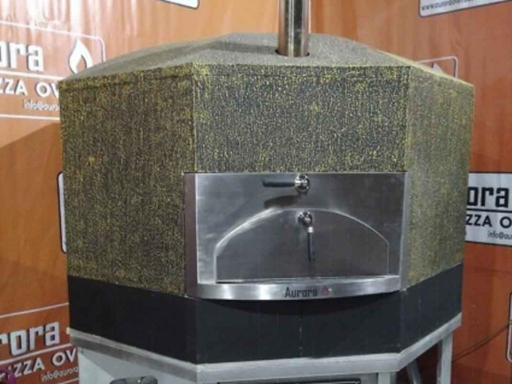 Aurora 120 green Oven Pizza Brick Lava Stones Wood Gas Bali Indonesia Asia 400 004