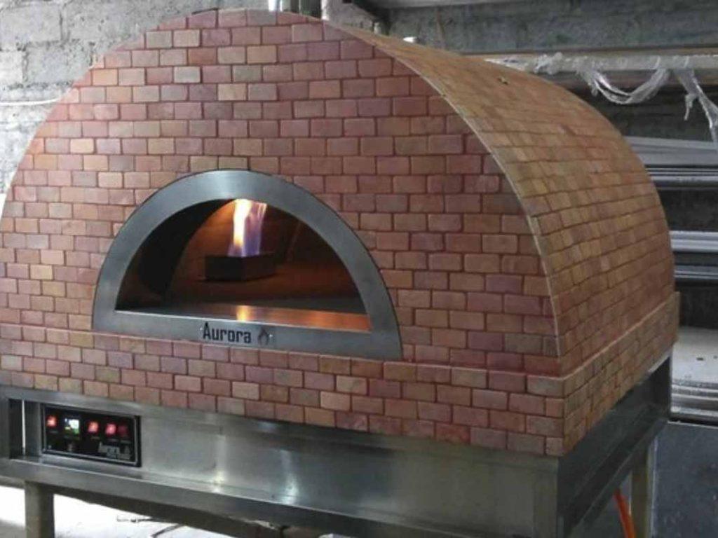 Aurora 90 CeramicRose Oven Pizza Brick Lava Stones Wood Gas Bali Indonesia Asia 200 006