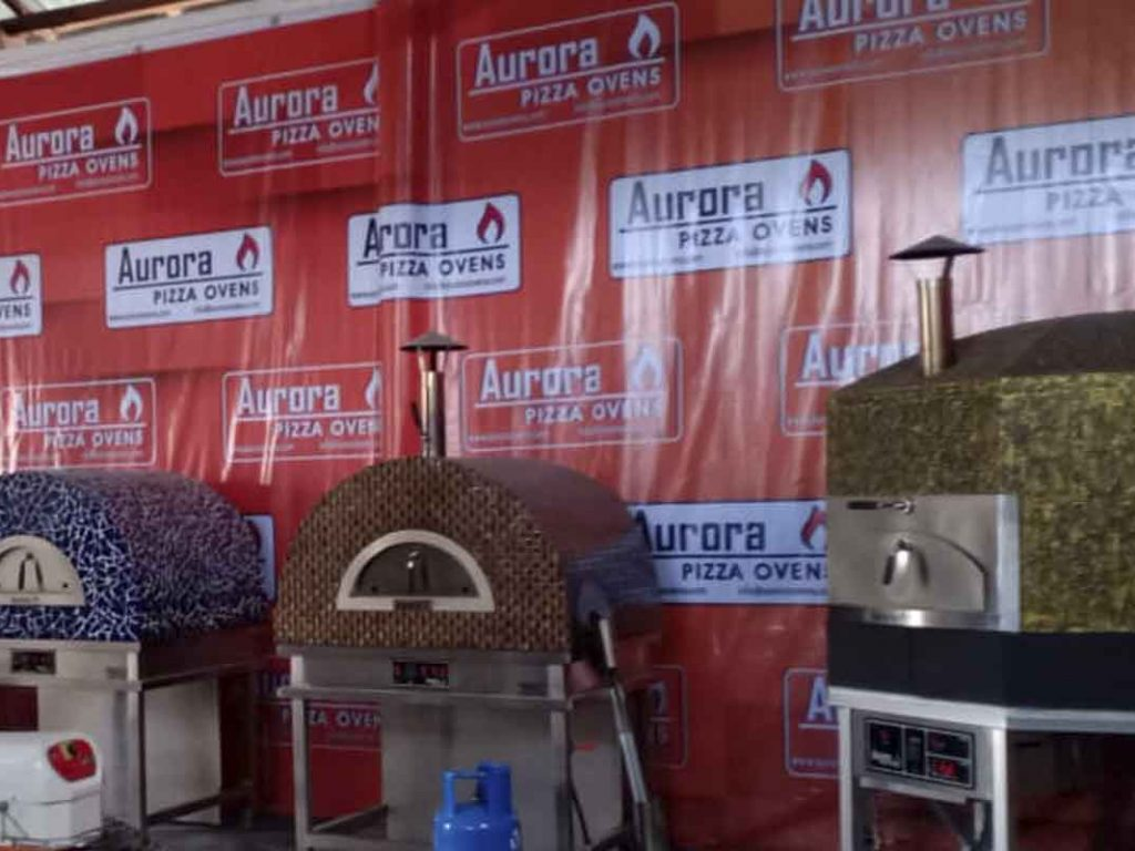 Aurora 90 Oven Pizza Brick Lava Stones Wood Gas Bali Indonesia Asia 200 021