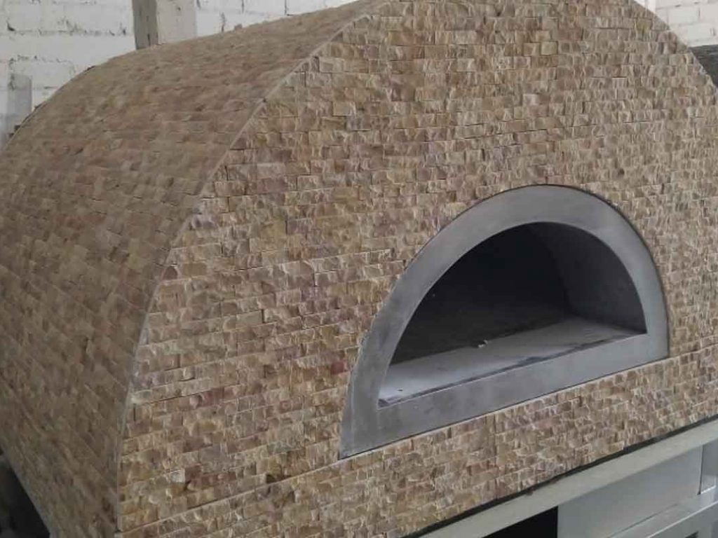 Aurora 90 brownstone Oven Pizza Brick Lava Stones Wood Gas Bali Indonesia Asia 200 045