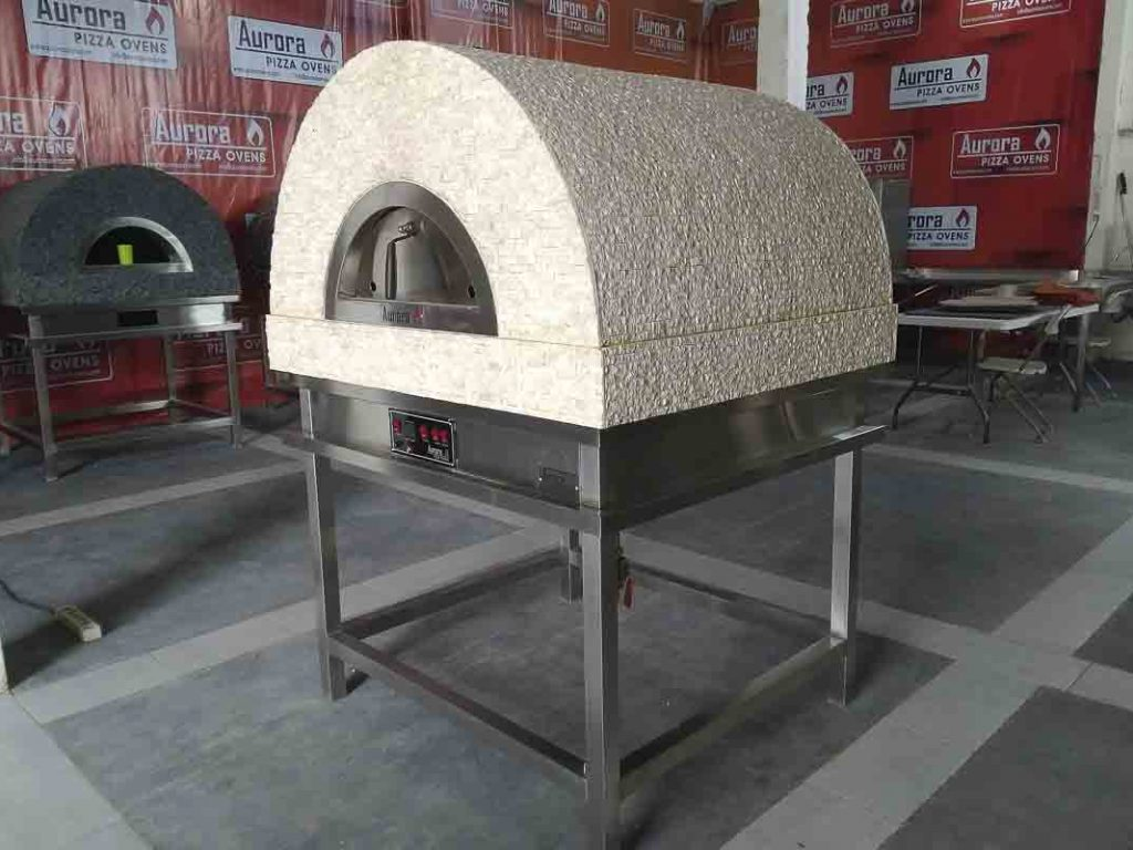 Aurora 90 cream Oven Pizza Brick Lava Stones Wood Gas Bali Indonesia Asia 200 040