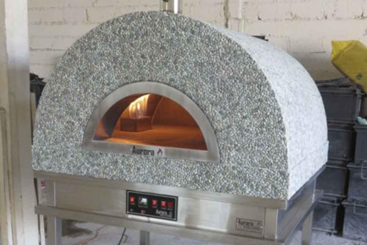 Aurora 90 mosaicstone Oven Pizza Brick Lava Stones Wood Gas Bali Indonesia Asia 200 033