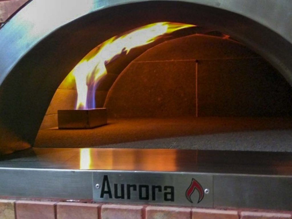 Aurora Oven Pizza Brick Lava Stones Wood Gas Bali Indonesia Asia Generic 003