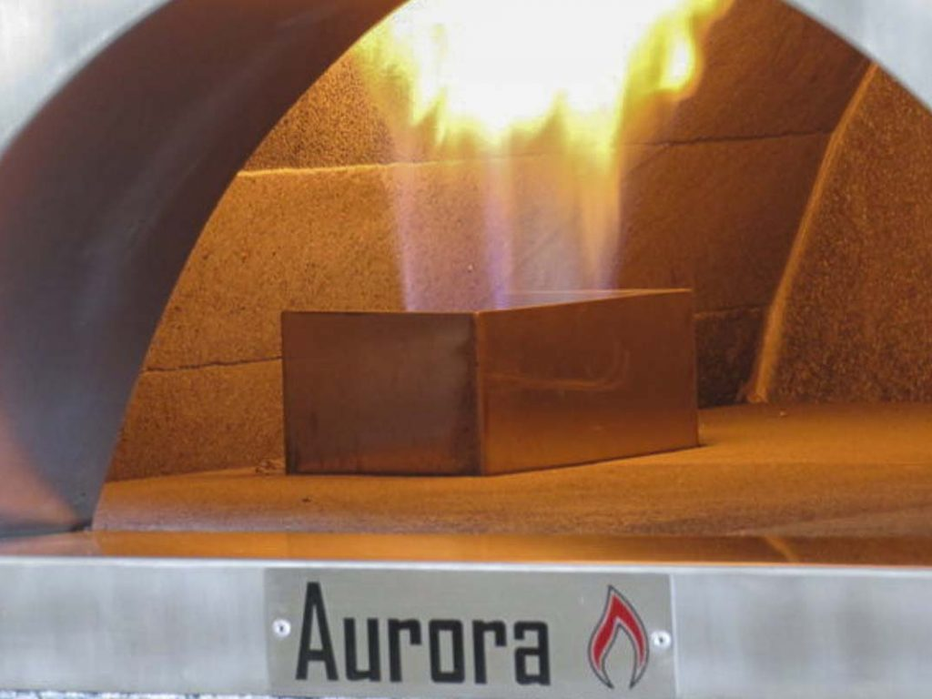 Aurora Oven Pizza Brick Lava Stones Wood Gas Bali Indonesia Asia Generic 005