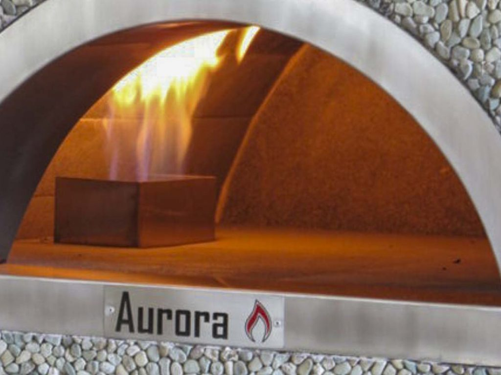 Aurora Oven Pizza Brick Lava Stones Wood Gas Bali Indonesia Asia Generic 007