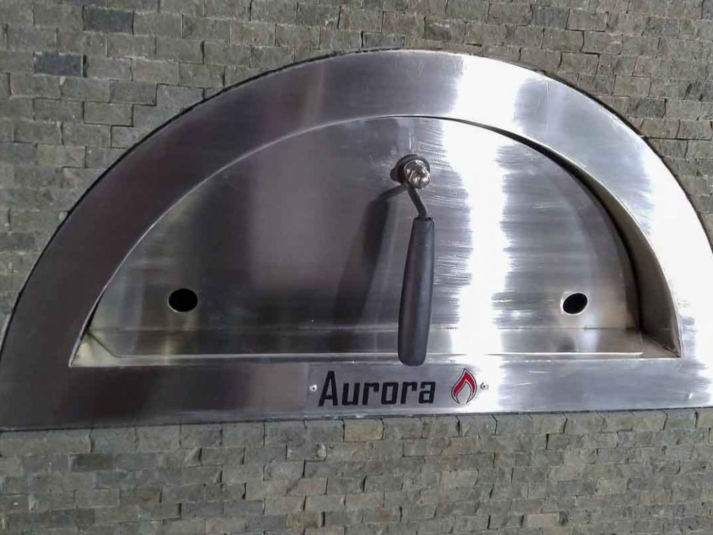Aurora Oven Pizza Brick Lava Stones Wood Gas Bali Indonesia Asia Generic 027