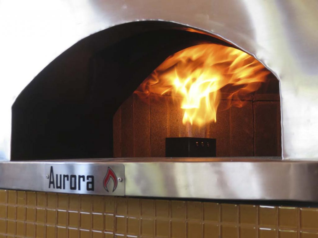 Aurora Oven Pizza Brick Lava Stones Wood Gas Bali Indonesia Asia Generic 034