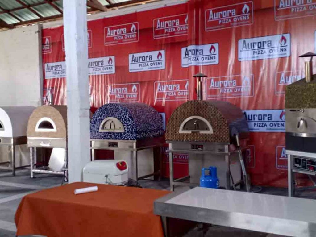 Aurora Oven Pizza Brick Lava Stones Wood Gas Bali Indonesia Asia try our ovens 001
