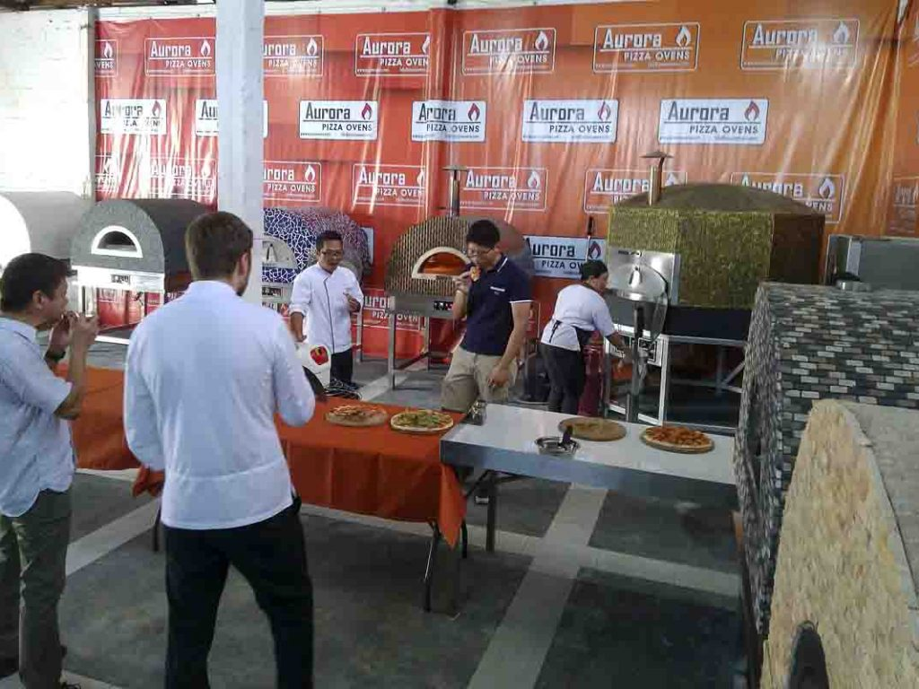 Aurora Oven Pizza Brick Lava Stones Wood Gas Bali Indonesia Asia try our ovens 002