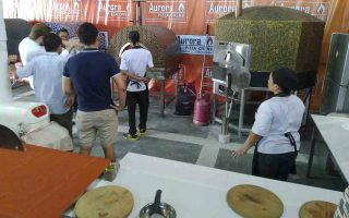 Aurora Oven Pizza Brick Lava Stones Wood Gas Bali Indonesia Asia try our ovens 005